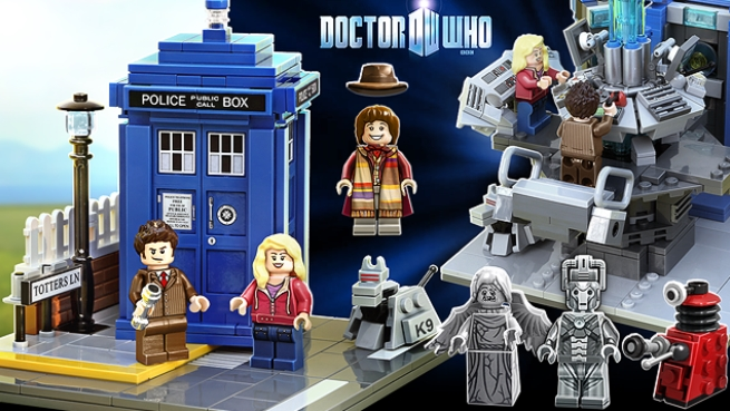 Doctor Who And Companions